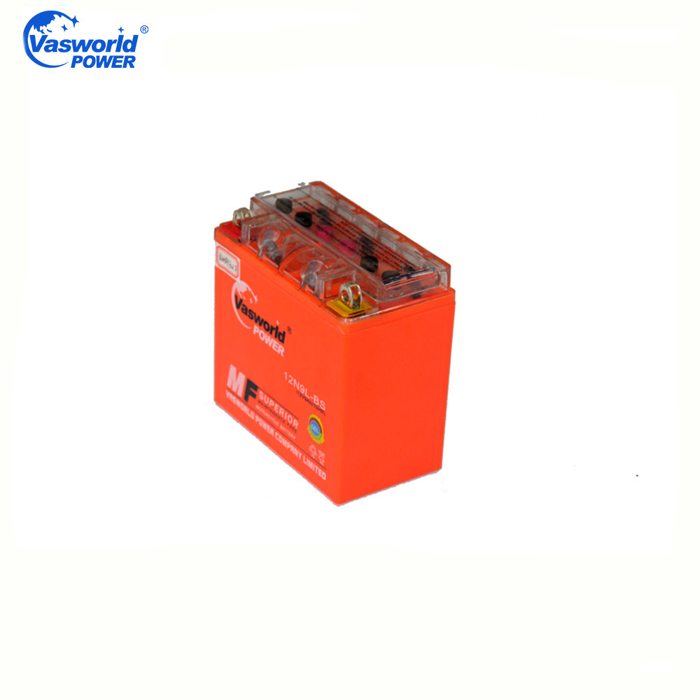 High Quality 12n9l-BS 12V9ah Maintenance Free Gel Motorcycle Battery