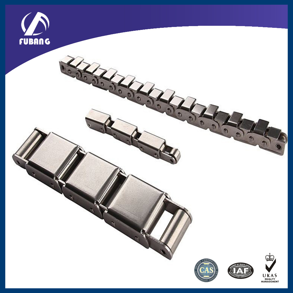 Stainless Steel Roller Chain with U Type Attachments (SS08B-U1)