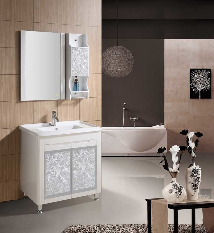 PVC Bathroom Cabinet (JTA-046)