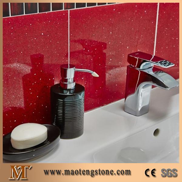Artificial Stone Countertop, Artificial Quartz Slab, Sparkle Quartz Stone