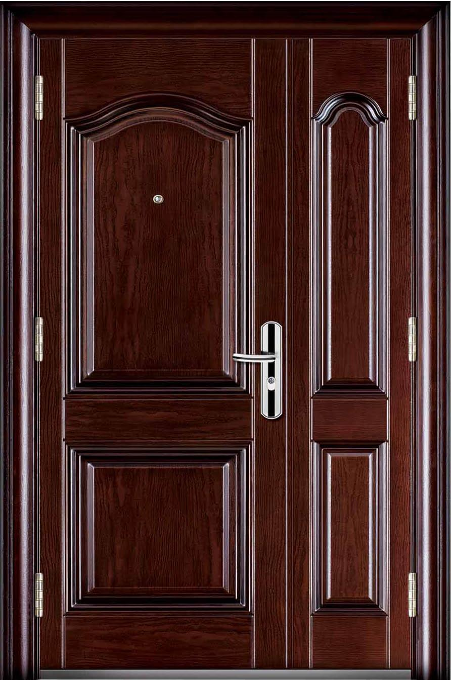 China steel security doors jc fb6085 china steel doors for Metal security doors