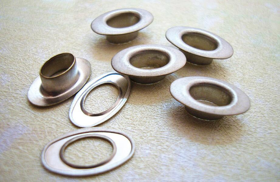 Lead Free and Nickel Free Brass Alloy Eyelet Button for Jacket, Jeans and Denim