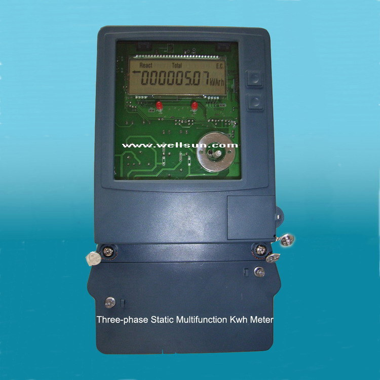 3 Phase Meter Utilyti : China three phase multi tariff meter dtsd