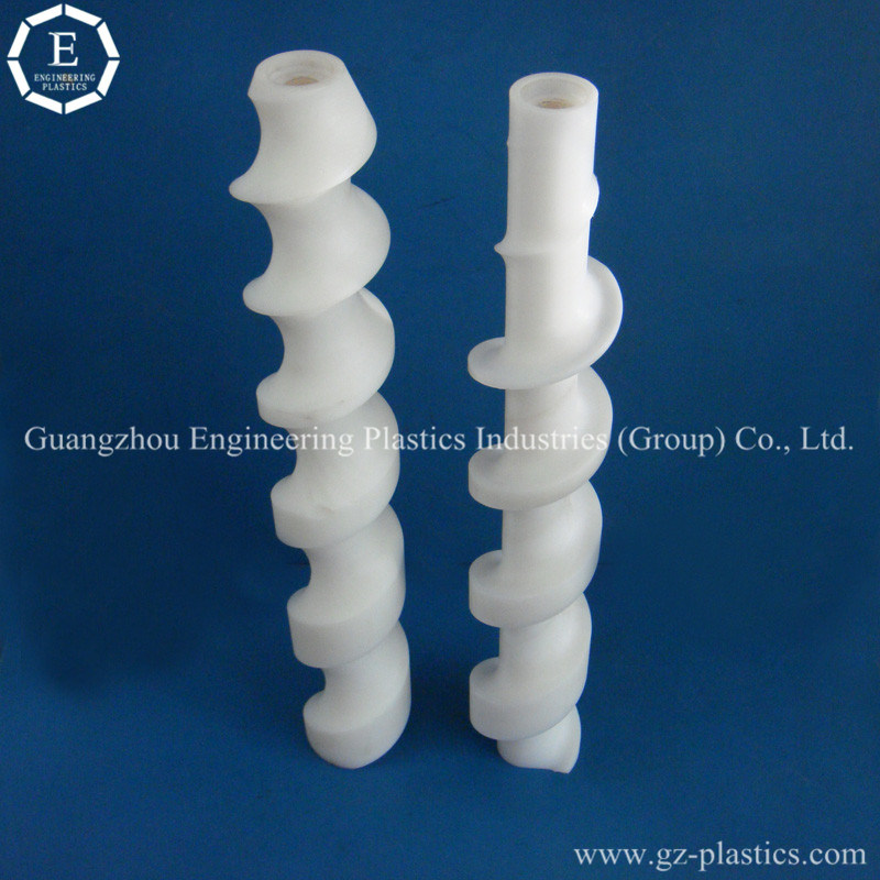 Engineering Accessories Custom UHMW-PE Polyethylenes Plastic Screw Products