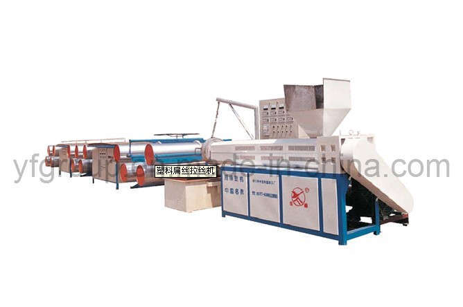 Plastic Tape Drawing Machine for PP Wovven Fabric (SJ-FS110/800B)