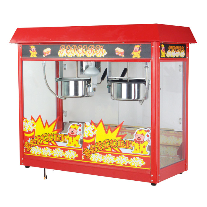 CE Approved Popcorn Machine with Two Pot (Luxury) (ET-POP6A-2)