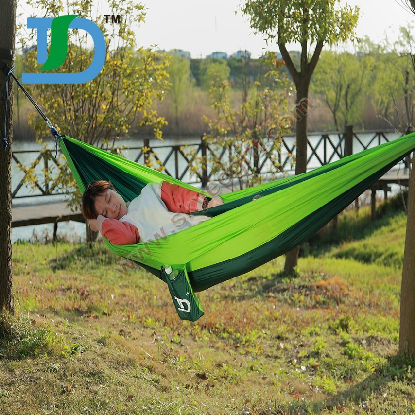 2017 Custom Outdoor Camping Nylon Hammock Beach