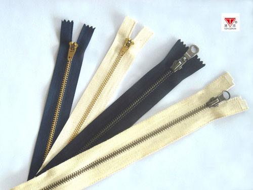 Hot Sale Brass Zipper with Discount