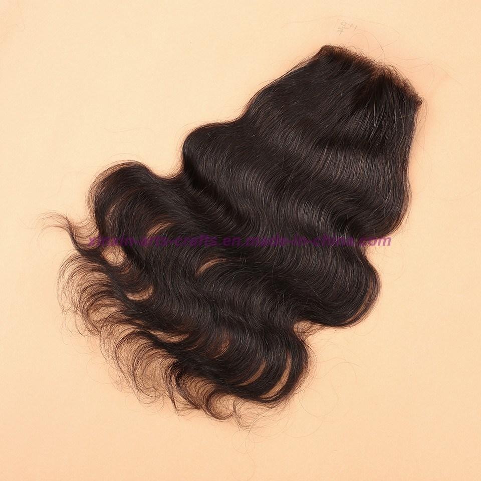 8A Grade Virgin Unprocessed Hair Malaysian Body Wave Bundles with Lace Closure Human Virgin Hair