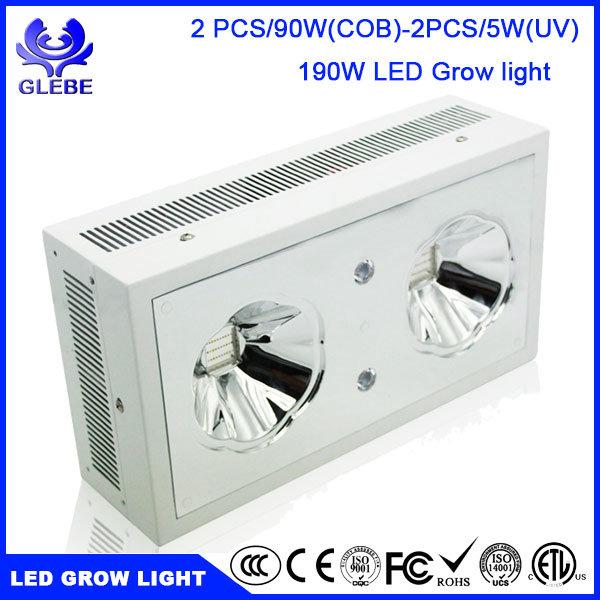 Used LED Grow Light Full Spectrum, Greenhouse Hydroponics 120W COB LED Grow Light