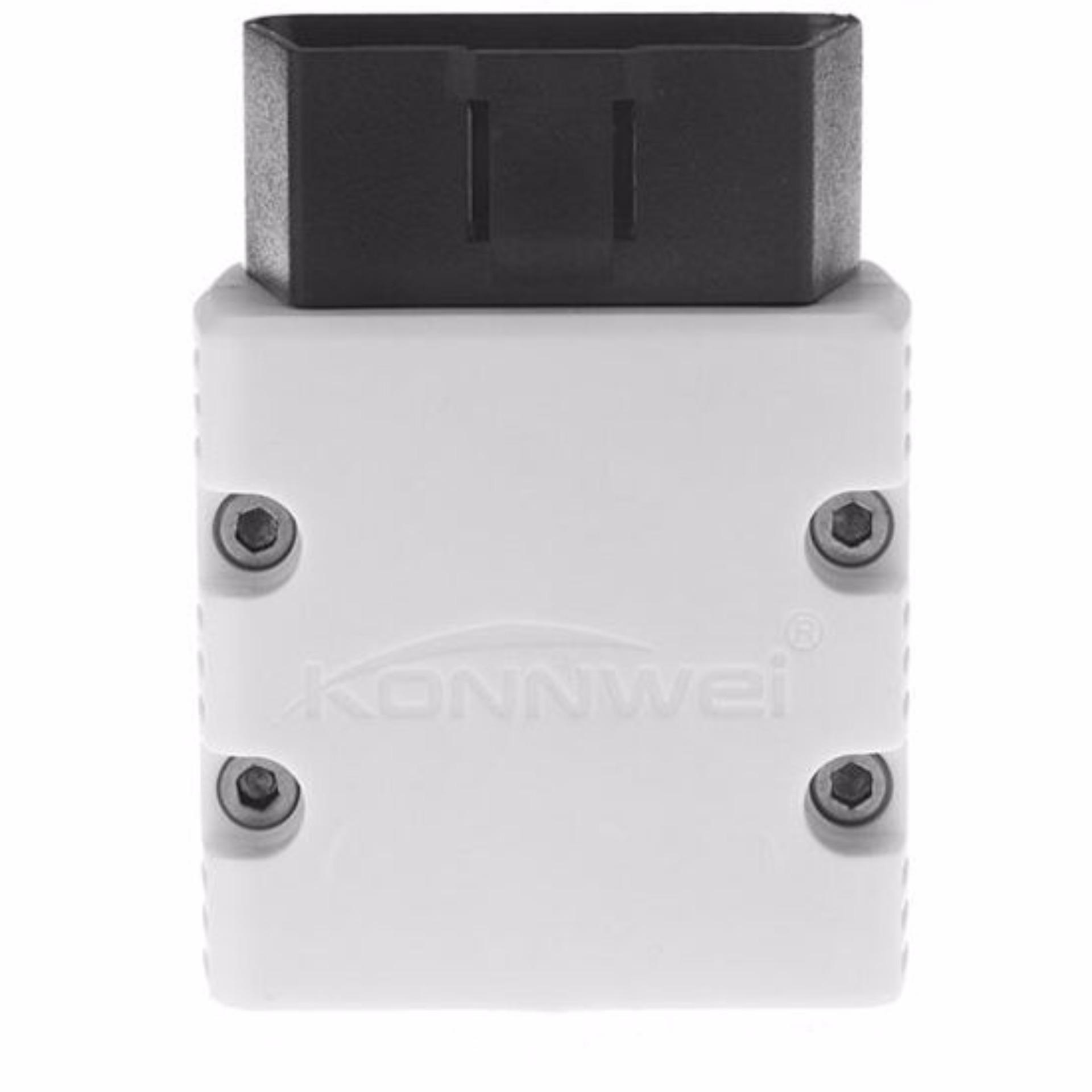 Konnwei Kw902 White Color Super Mini Bluetooth OBD/OBD2 for Android PC Tablet Smartphone