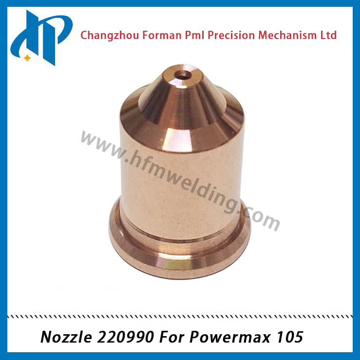 Nozzle 220990 for Power Max 105 Plasma Cutting Torch Consumables 105A