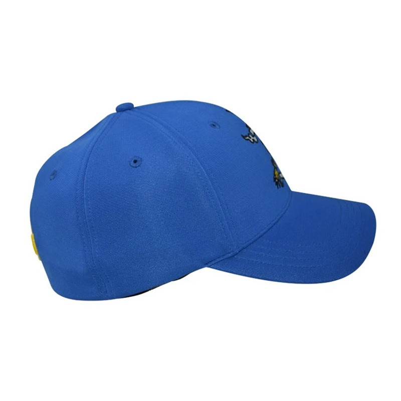 Wholesale Caps and Hats 6 Panel Polyester Flexfit Hat Baseball Cap
