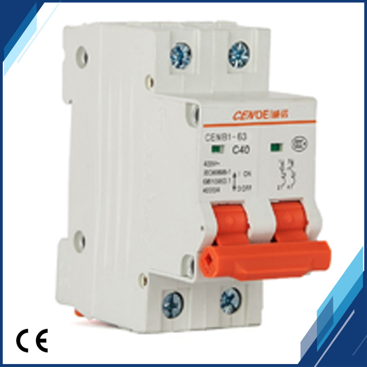2017 New Type 2p 40A Circuit Breaker