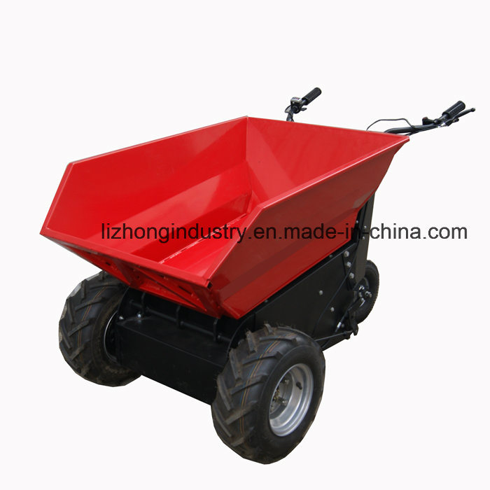 1100W 500kgs Self Dump Electric Mini Dumper