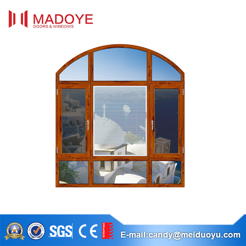 Wholesale Tempered Clear Glass Casement Window