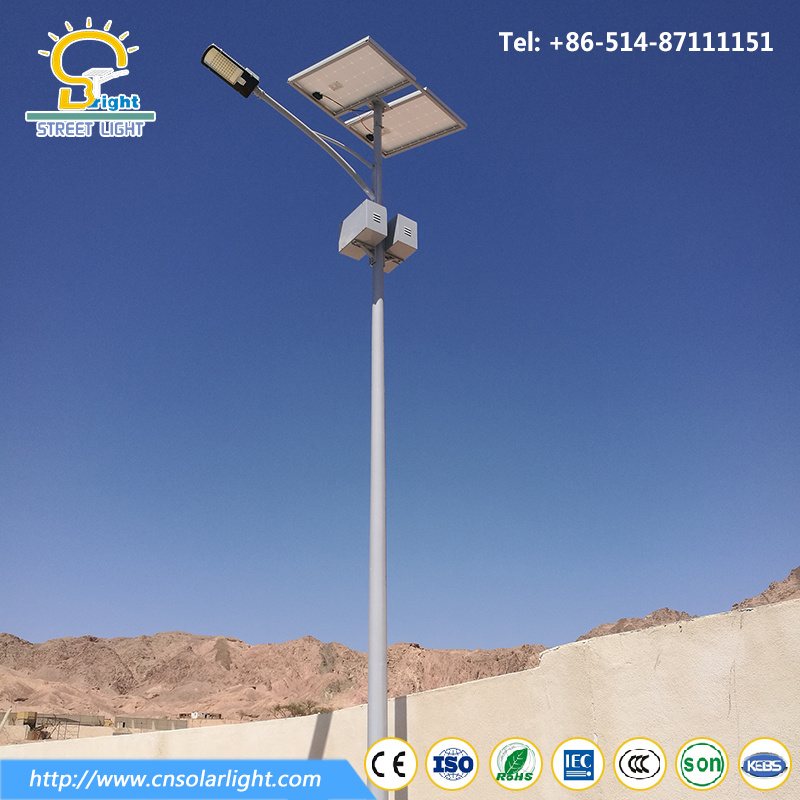 Cheap Price 8m 60W LED Solar Street Light with Solar Panel