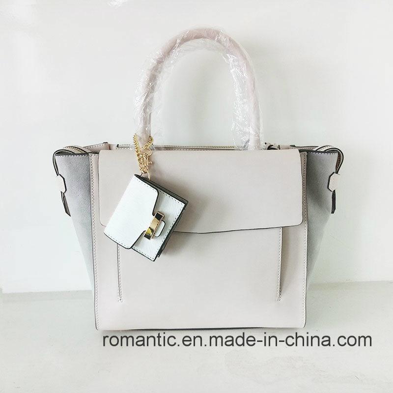 Brand Designer Trendy Women PU Suede Handbags (NMDK-051602)