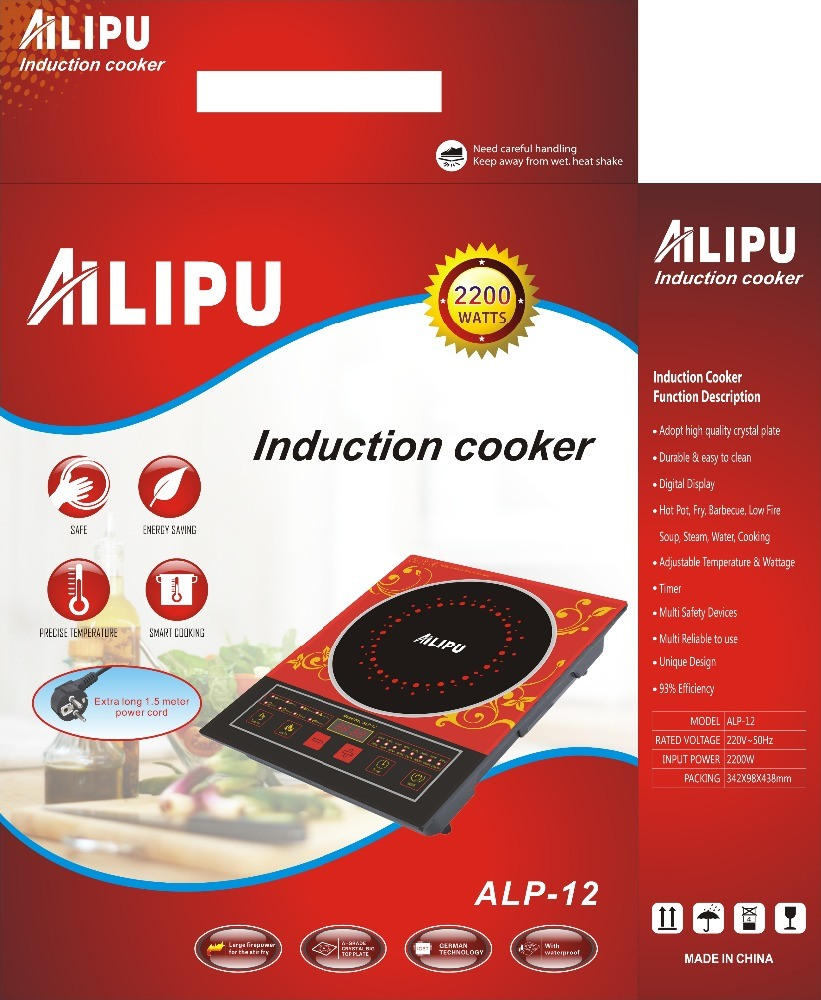 Multi-Function Touch Control Induction Cooker for Commonly Use