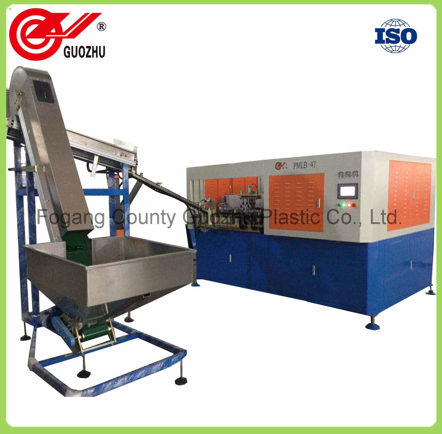Guozhu Automatic 650ml Pet Beverage Bottle Stretch Blow Molding Machine Manufacturer