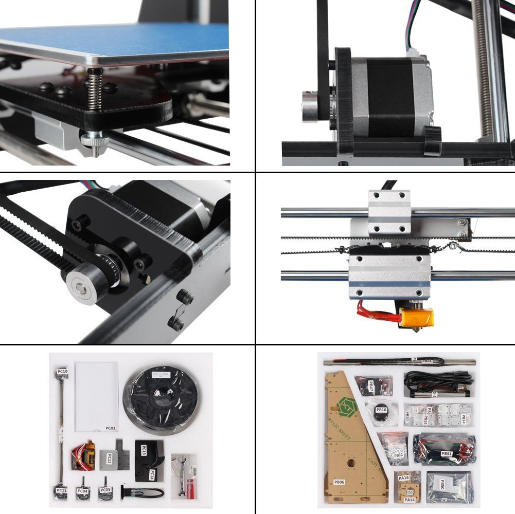 Ecubmaker Desktop 3D Printer Prusa I3 Kit