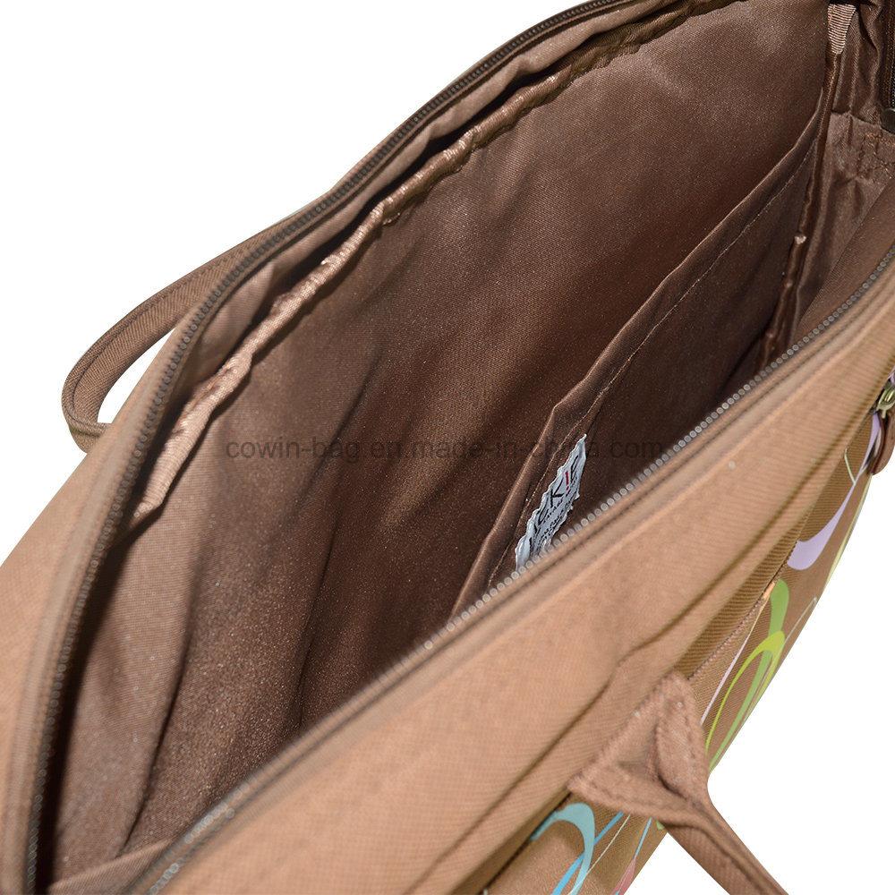 Promotional Simple Designed Fashion Business Shoulder Carry Laptop Tote