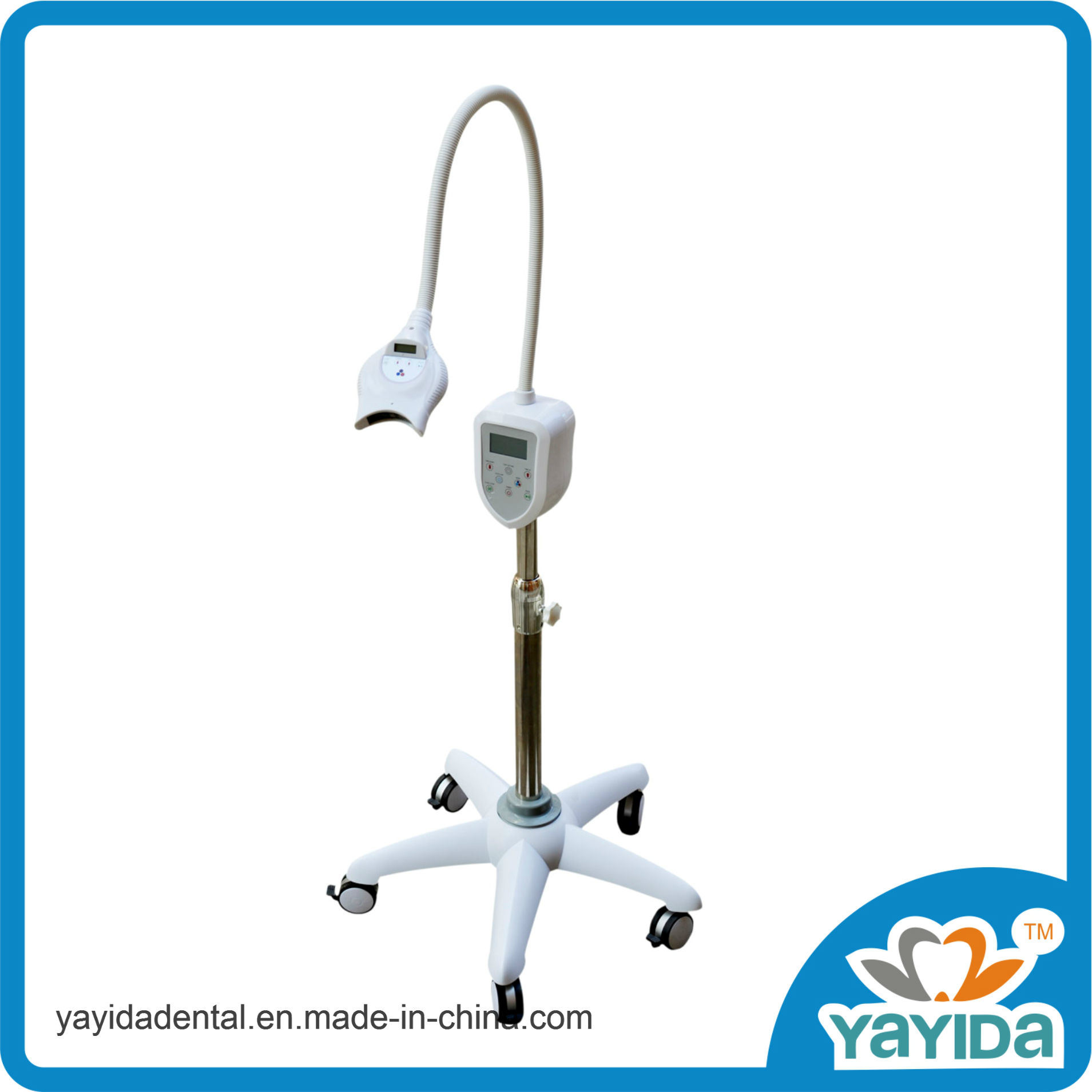 Laer Dental Teeth Whitening Lamp with Blue or Red Light