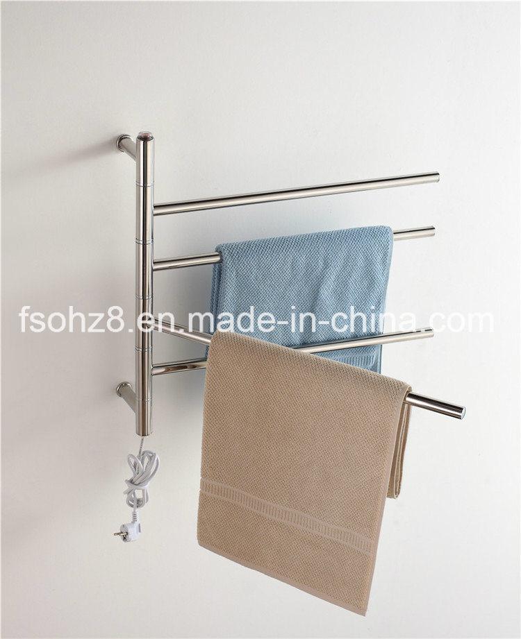 Sanitary Ware Stainless Steel Bathroom Accessory Heated Towel Rails (9007)