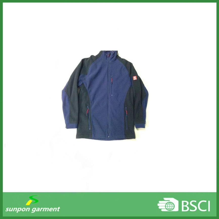 Custom Anti-Pilling Cheap Wind Stopper Man Polar Fleece Jacket