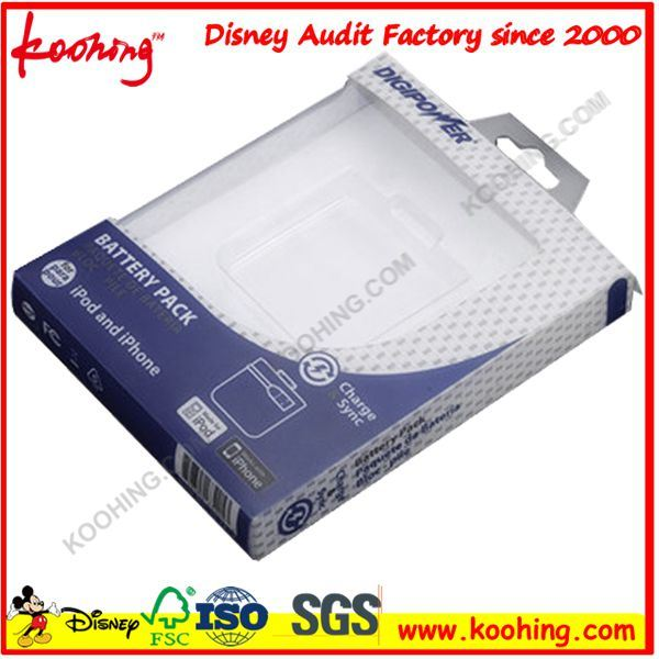 Customized Printing Clear Plastic Box Made of PVC/Pet