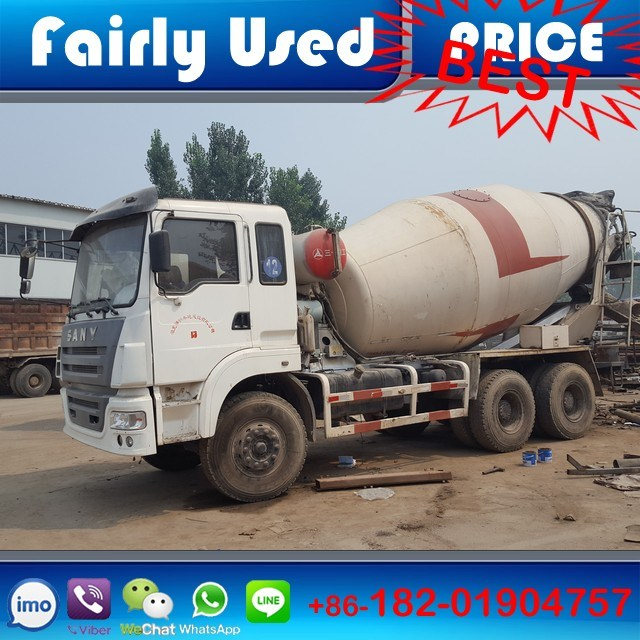 Used Sany 8cbm Concrete Mixer Truck of Concrete Mixer Truck