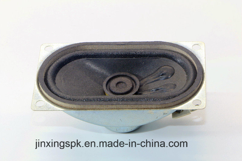 40*70mm 4-32ohm 0.25-3W TV Speaker with RoHS