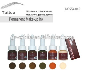 Goochie Eyebrow Cream Permanent Makeup Tattoo Ink Pigment