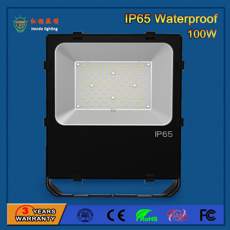 Outdoor 100W High Power LED Floodlight for Billboard