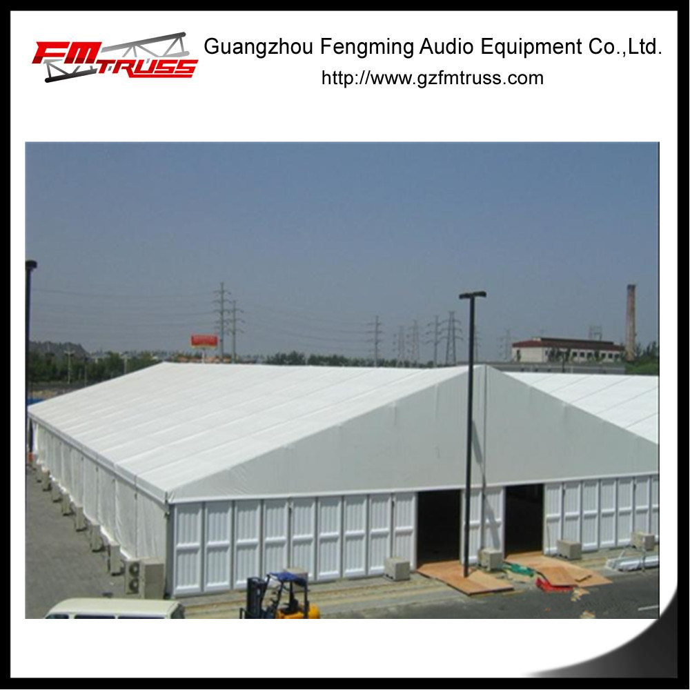 United Arab Emirates Warehouse Tent with ABS Hard Sidewalls