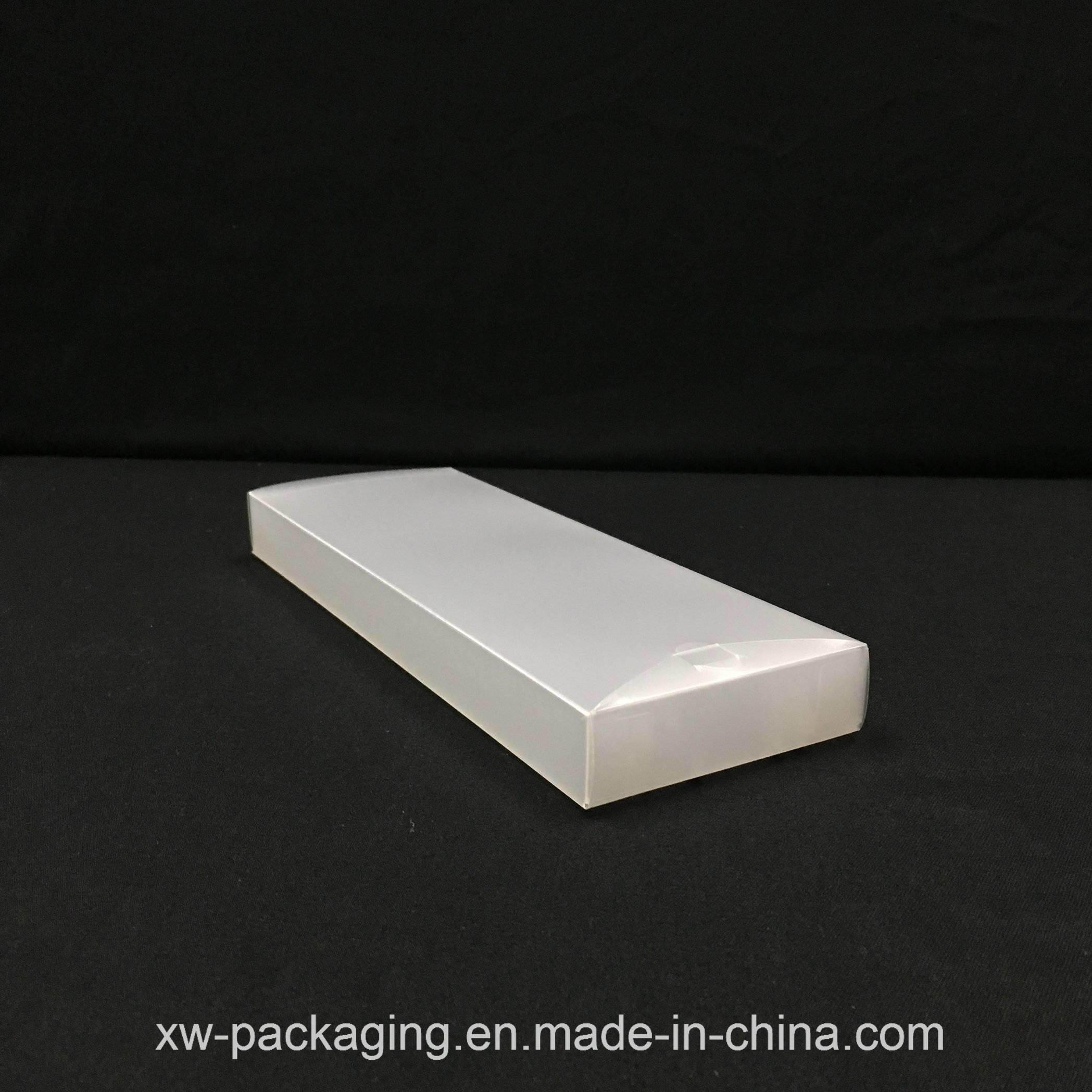 Custom Frosted Plastic Folding Box for Blister Packaging