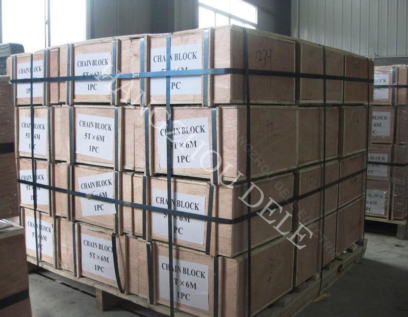 Htg Lifting Manual Block 2ton with Trolley