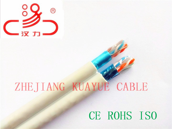 FTP CAT6 4X2X23AWG 250MHz/Computer Cable/ Data Cable/ Communication Cable/ Connector/ Audio Cable