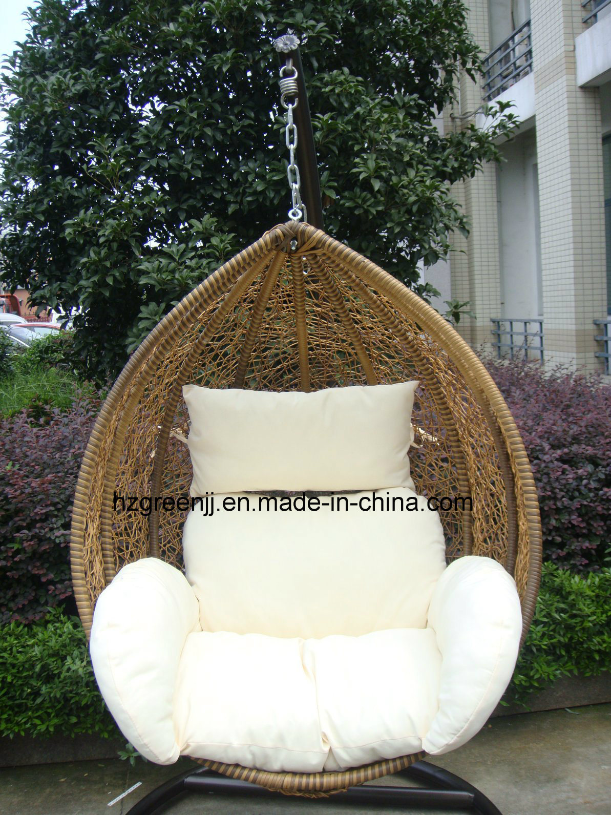 Garden Rattan Swing Chair