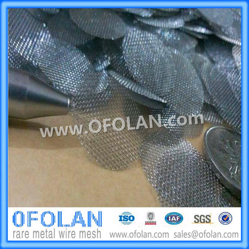 40 Mesh Molybdenum Wire Mesh/Cloth 100mmx1000mm Stock Supply