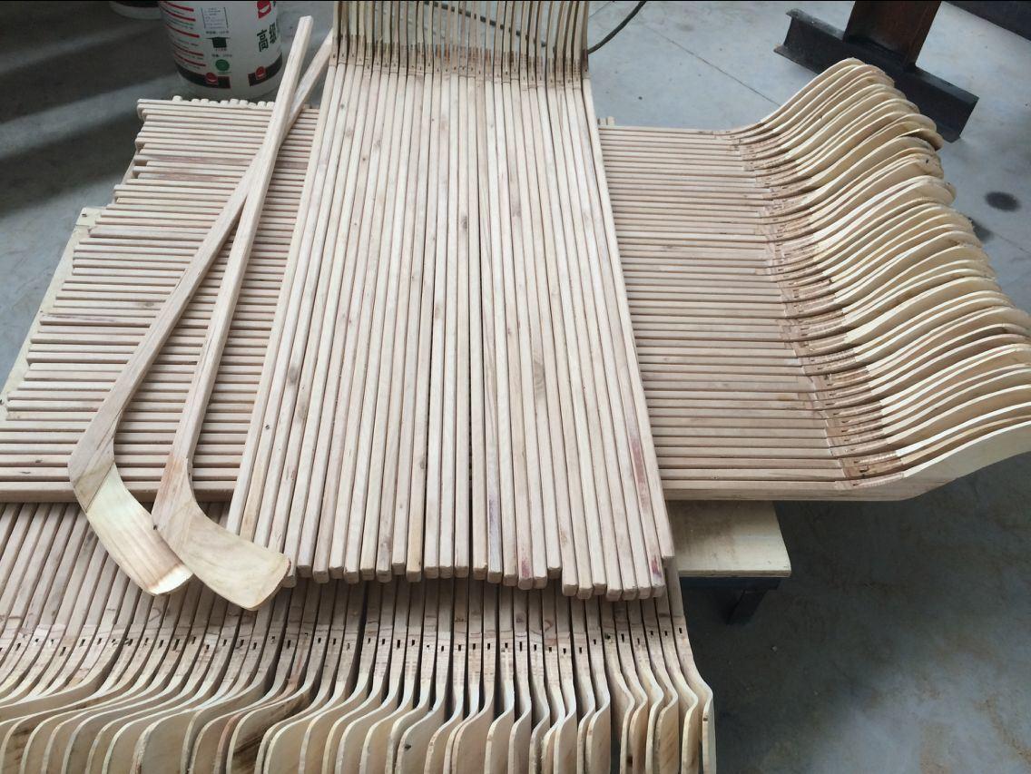 Cuatomized Full Wooden Hockey Stick