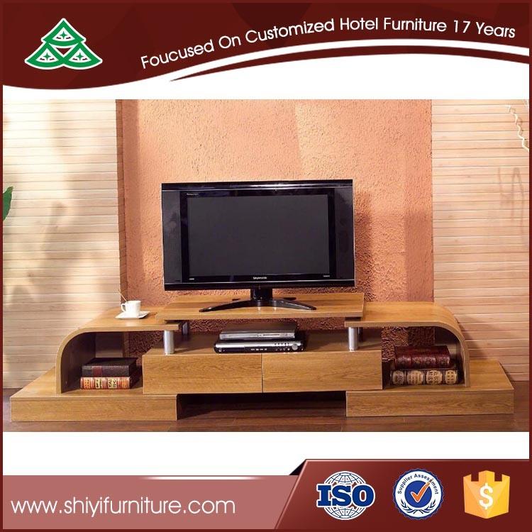 Family Room Furniture Solid Wood Oak TV Cabinet