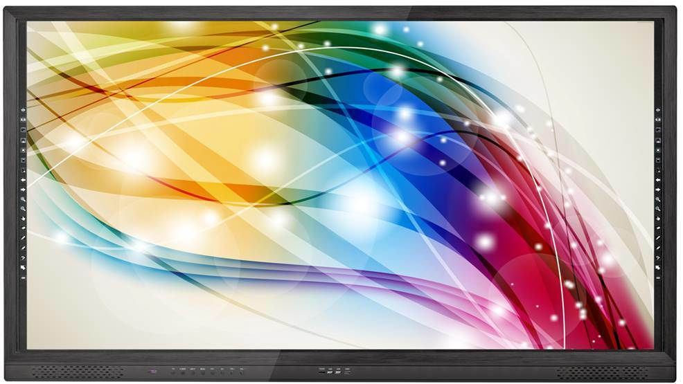 65, 75inch LED Panel Touch Screen Monitor All in One PC with Factory Price
