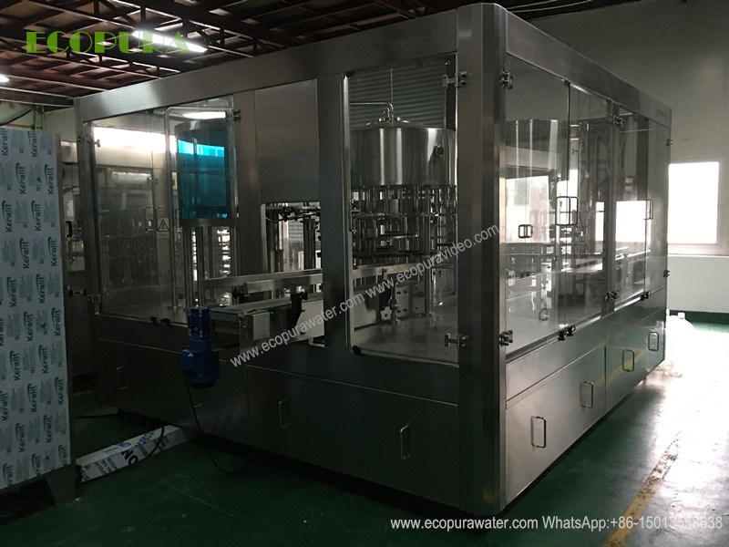 4.5L Bottled Water Filling Machine / 3-in-1 Bottling Machine
