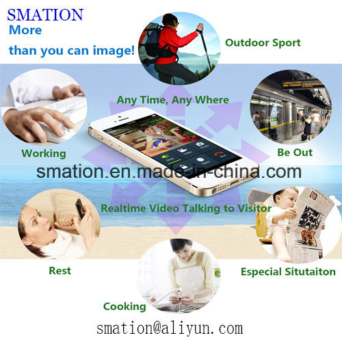 Security Smart APP IP Digital CCTV Home WiFi Wireless Electronic Video Doorbell Door Camera