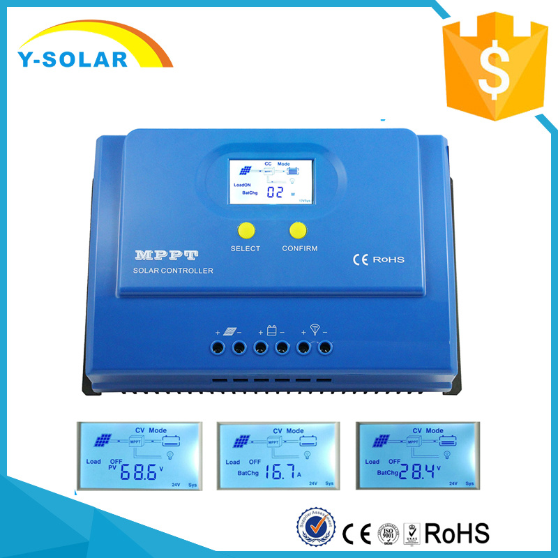 MPPT 20A 12V/24V LCD Backlight Display Solar Charge Controller/Regulator Ys-20A