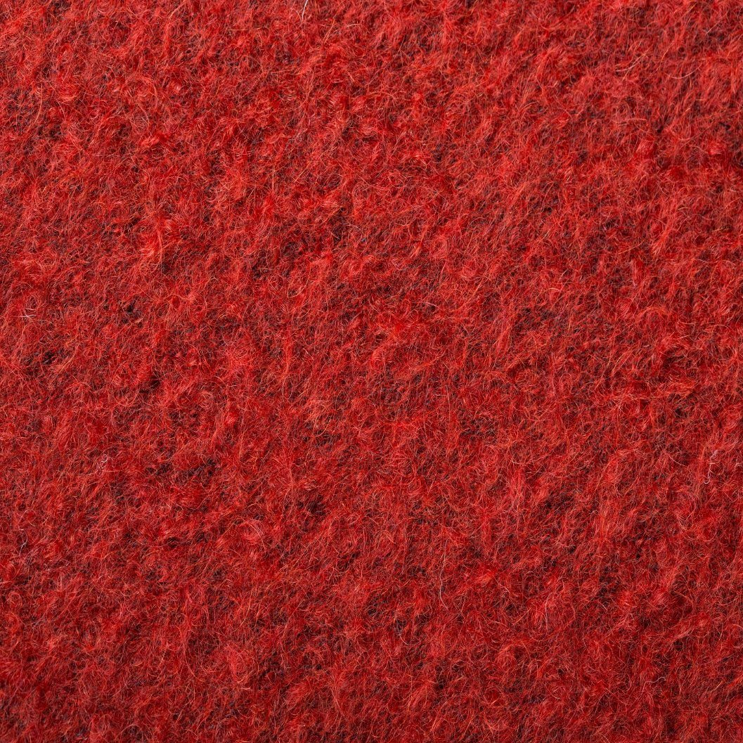 Wool and Mohair Mixed Wool Fabric, Thick for Winter