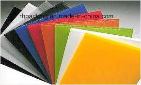 8′*4′ PP Corrugated Plastic Sheet Coroplast White Corona Treated