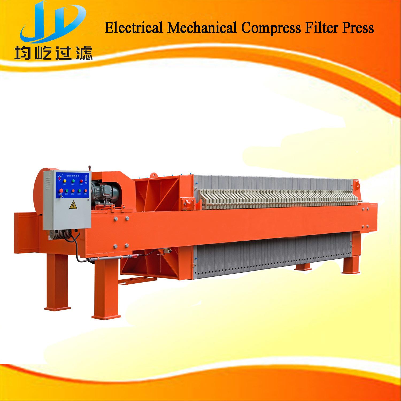 Solid-Liquid Separation Sludge Dewatering Membrane Filter Press