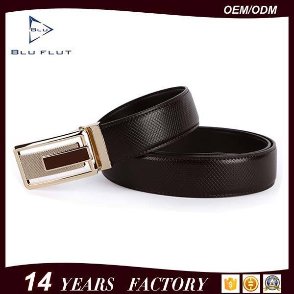Factory Wholesale Burnished Leather Belt Real Leather Men Waist Belt